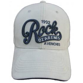 Casquette Rock bleu