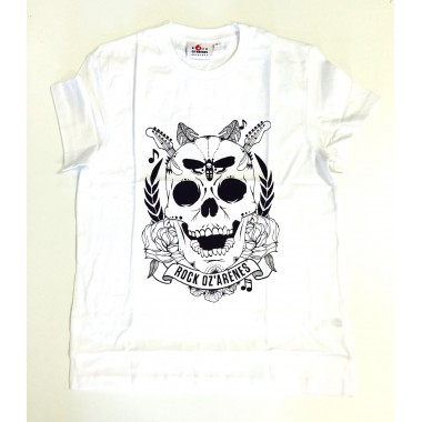 T-shirt tete de mort