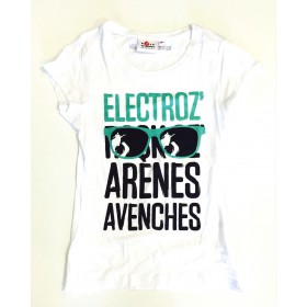 T-shirt Electroz Bright White Homme
