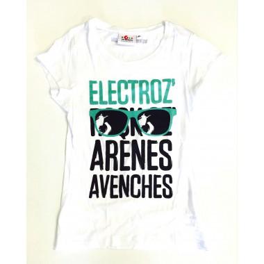 T-shirt Electroz Bright White femme