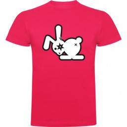 T-shirt  homme lapin oeil noir