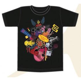 "T-shirt NOIR HOMME ""Birthday 20ans"""