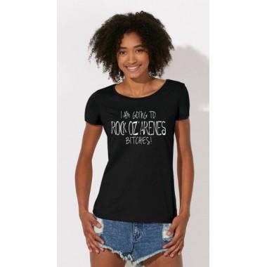 T-shirts noir femme I'm going