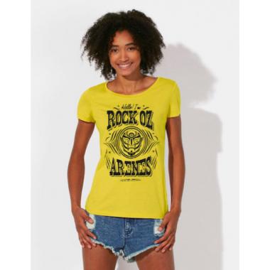 T-shirts jaune femme hello