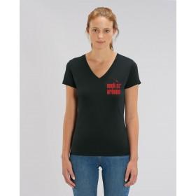 T-shirt coton ORGANIC - noir