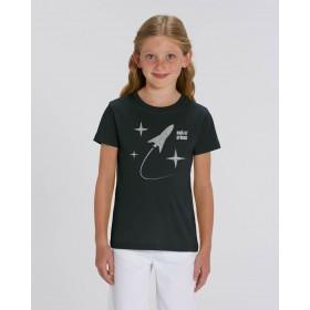 T-shirt enfant ORGANIC - Noir