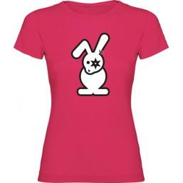 T-shirt femme lapin face