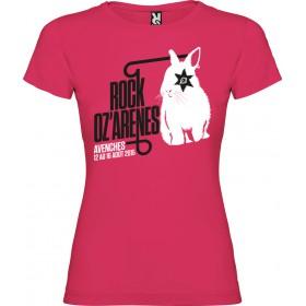 T-shirt femme lapin oeil noir