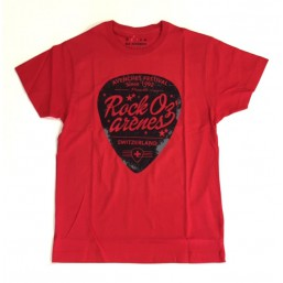 T-shirt Mediator rouge