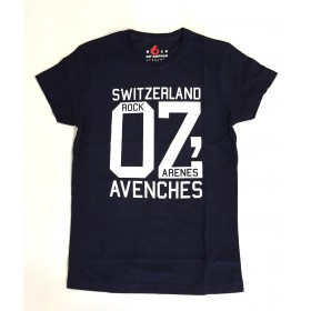 T-Shirt OZ bleu