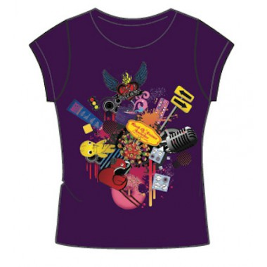 """T-shirt VIOLET FEMME """"birthday"""""""