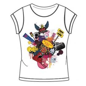 "T-shirt BLANC FEMME ""birthday"""